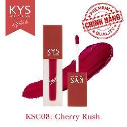 Son kem KYS Chocolate Crush đỏ cherry – Cherry Rush