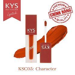 Son kem KYS Chocolate Crush cam cháy – Character