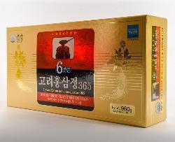 Cao hồng sâm Hàn Quốc 365 hộp 4 lọ 240g chính hãng giá
