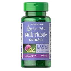 Milk Thistle Extract 1000mg Puritan Pride – Viên Bổ Gan Của Mỹ Mẫu Mới Nhất