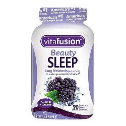 Kẹo dẻo ngủ ngon Vitafusion Beauty Sleep Gummies 90 viên của Mỹ