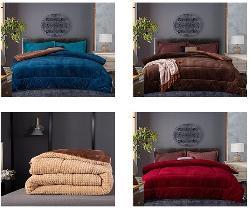 Chăn lông cừu Pháp Nicolas cao cấp - đẳng cấp trong từng giấc ngủ
