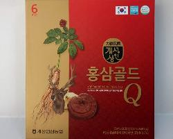 Nước hồng sâm nhung hươu linh chi Q – Korea Red Ginseng Gold Hàn Quốc