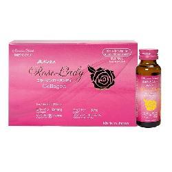 Nước uống Kaza Rose Lady 5000mg bảo vệ làn da trẻ đẹp từ bên trong