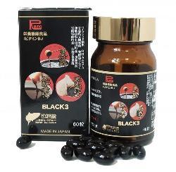Black3 Nhật Bản hộp 60 viên - Giúp tăng cường sức đề kháng