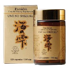 Viên uống Fucoidan Umi No Shizuku Nhật Bản hỗ trợ điều trị ung thư