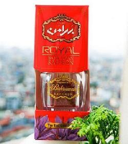 Nhụy hoa nghệ tây Royal Bahraman Saffron hộp 2 gram