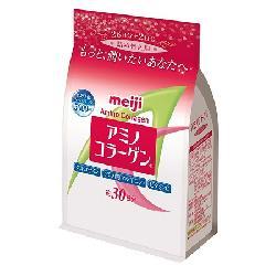 Bột Meiji Amino Collagen 5000mg dạng túi Nhật Bản