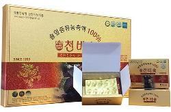 Tinh dầu thông đỏ Cheon Bi Sol Hàn Quốc 180 viên