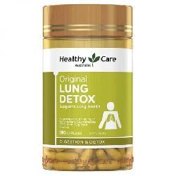 Thải độc phổi Healthy Care Original Lung Detox 180 viên