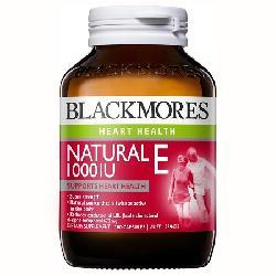 Viên uống Blackmores Natural E 1000IU 100 viên