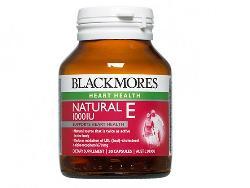 Blackmore Natural Vitamin E 1000IU hộp 30 viên của Úc