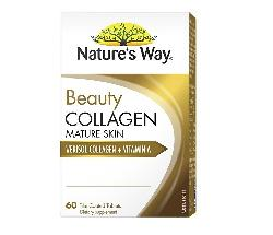 Natures Way Beauty Collagen Mature Skin 60 viên chính hãng của Úc