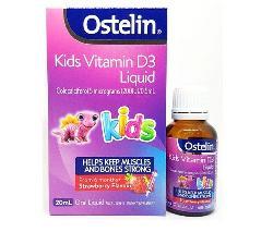 Ostelin Vitamin D Liquid Kid dạng nước cho trẻ dưới 12 tuổi