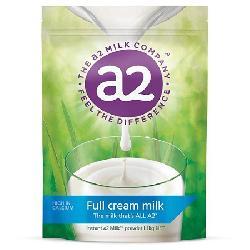 Sữa tươi A2 Full Cream Milk Powder 1kg dạng bột