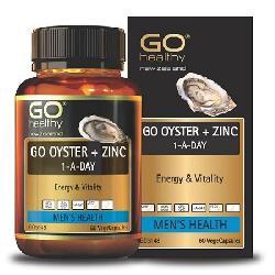 Tinh chất hàu Go Oyster plus Zinc 1- A- Day Úc 60 viên