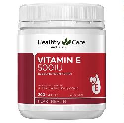 Vitamin E Healthy Care 500iu 200 viên