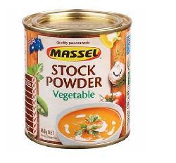 Massel Stock Powder Vegetable 168g - Hạt nêm hương vị rau của Úc