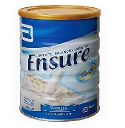 Sữa bột dành cho người lớn tuổi Abbott Ensure hộp 850g của Úc