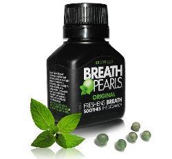 Breath Pearls – Viên uống hỗ trợ thơm miệng của Úc