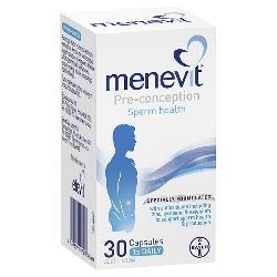 Menevit Pre - Conception Sperm Health của Úc hộp 30 viên