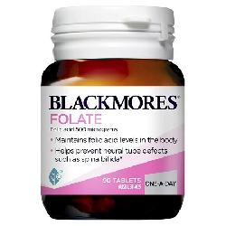 Viên uống Blackmores Folate 500mcg 90 viên cho bà bầu