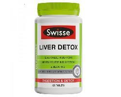 Viên uống giải độc gan Swisse Liver Detox Australia lọ 120 viên
