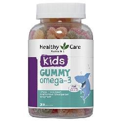 Kẹo dẻo Gummy Omega-3 Healthy Care 250 viên Úc bổ sung omega 3 cho bé