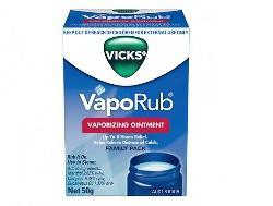Vick Vaporub Vaporizing Ointment 50g của Úc - Dầu bôi ấm ngực của Úc