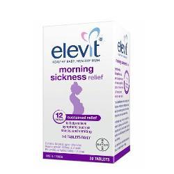 Viên chống nghén của Úc Bayer Elevit Morning Sickness Relief 30 viên