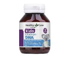 Healthy Care Kids High Strength DHA hộp 60 viên của Úc