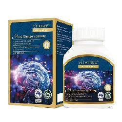 Viên uống tăng tuần hoàn não Vitatree Mega Ginkgo 9500mg Max 60 viên