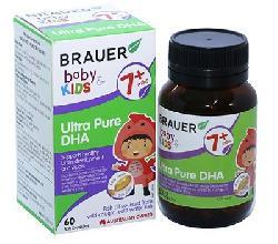 Brauer Baby Kids Ultra Pure DHA cho trẻ từ 7 tháng tuổi