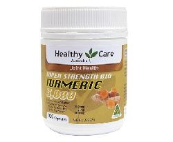 Healthy Care Super Strength Bio Turmeric 3000 hộp 100 viên của Úc