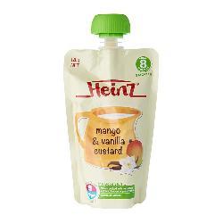 Váng sữa Heinz của Úc vị xoài - Heinz Mango & Vanilla Custard 8+