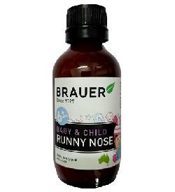 Siro trị sổ mũi Brauer Baby and Child Runny Nose cho bé từ 6 tháng trở lên