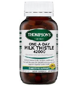 Viên bổ gan Thompsons One-A-Day Milk Thistle 42000mg 60 viên Úc