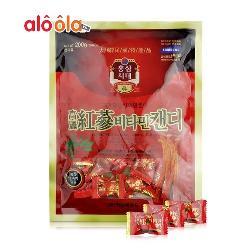Kẹo hồng sâm Korean Red Ginseng Vitamin Candy 200g Hàn Quốc
