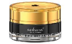 Kem giảm nám cao cấp ban đêm Sakura Spot Care & Whitening Night Cream