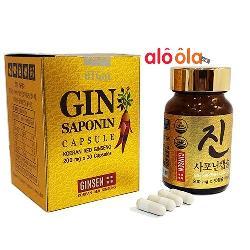 Viên hồng sâm Gin Saponin Capsule Hàn Quốc 30 viên - GIN30