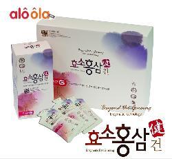 Nước hồng sâm enzyme cao cấp GEON Hàn Quốc