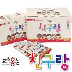 Thạch hồng sâm trẻ em Chin Gu Rang Hàn Quốc chính hãng hộp 40g