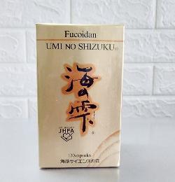 Umi No Shizuku Fucoidan chính hãng Nhật Bản hộp 120 viên