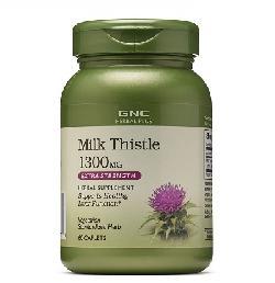 Gnc Herbal Plus Milk Thistle 1300mg – Viên uống bổ gan số 1 của Mỹ