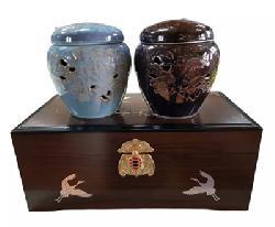 Cao hồng sâm Hàn Quốc hộp gỗ 2 hũ x 500g chính hãng giá tốt nhất