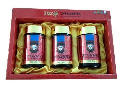 Cao hồng sâm Dongjin 6 năm tuổi 22.4mg/g 240gx3 lọ thủy tinh - Korean Red Ginseng Hwal-Gi Extract