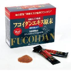 Fucoidan Extract Powder Granules dạng bột 30 gói màu đỏ
