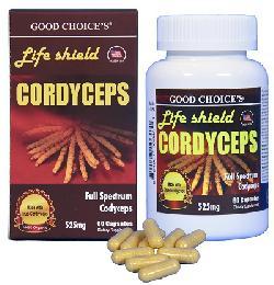 Đông trùng hạ thảo Life Shield Cordyceps hộp 60 viên
