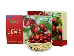 Táo đỏ sấy khô 1kg Hàn Quốc chính hãng