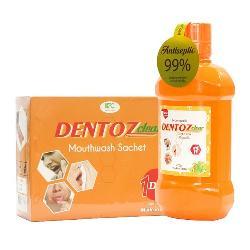 Combo Nước súc miệng DentozClear kháng khuẩn số 1 Hàn Quốc